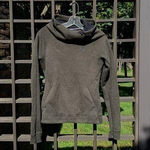 Nike Cowl Neck Green Sweatshirt